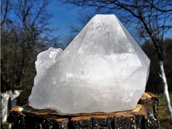 Přírodní surový krystal křišťálu 3,5kg / Brazílie