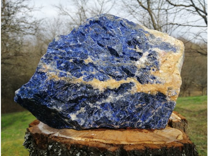 Sodalit 3,76kg - kámen racionální mysli / Namíbie