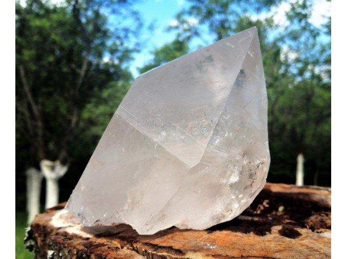 Krystal křišťálu 1,17kg - ryze přírodní, surový křišťál, ruční těžba / Himaláje