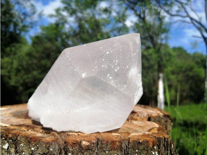 Samoléčitel - přírodní surový mistrovský krystal křišťálu / Himaláje