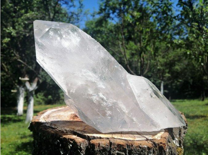 Krystal křišťálu 1,32kg - přírodní surový / Brazílie