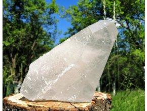 Samoléčitel 4kg- přírodní surový mistrovský krystal křišťálu / Brazílie