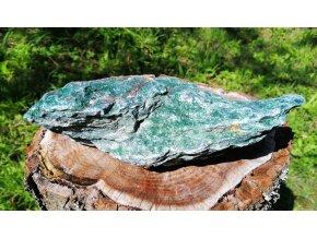 Fuchsit 1,45g - přírodní, surový / Brazílie