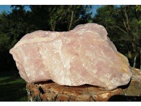 Růženín 2,75kg - přírodní surový kámen / Malawi