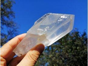 Fantom - přírodní surový krystal křišťálu s fantomem / Brazílie