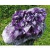 Ametystová drúza 26,1kg hluboké syté fialové barvy / Brazílie