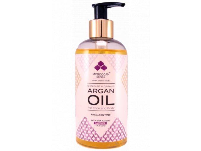 663 arganovy olej pro plet a telo levandule 250 ml
