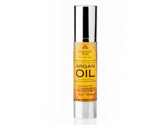687 arganovy olej pro plet a telo pomeranc 50 ml