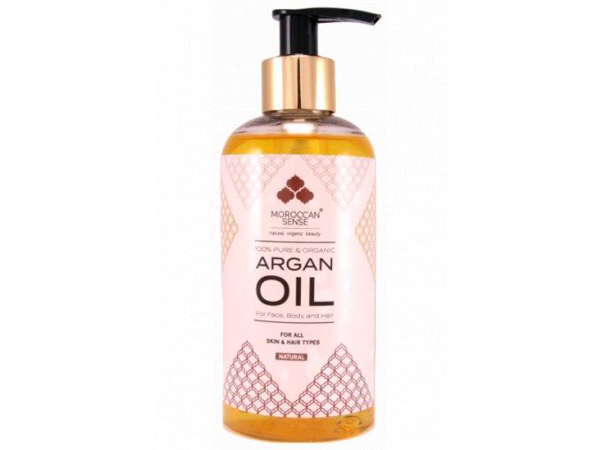 660 arganovy olej pro plet telo a vlasy 250 ml