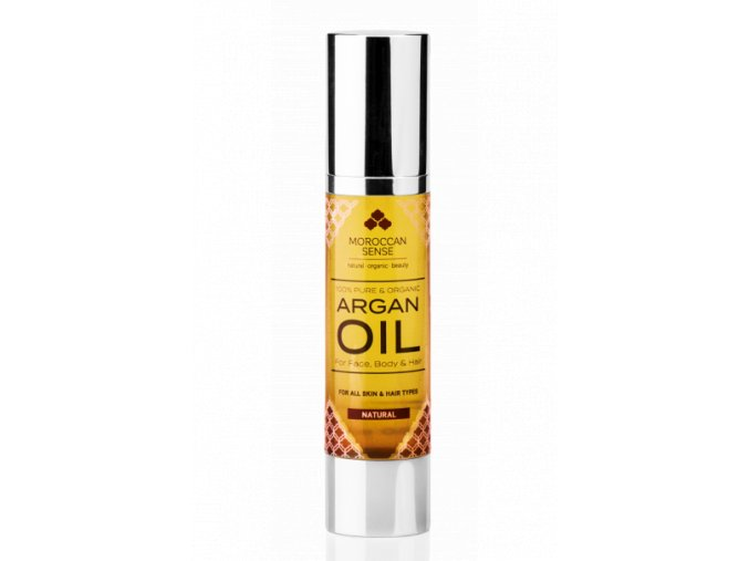 612 arganovy olej pro plet telo a vlasy 50 ml