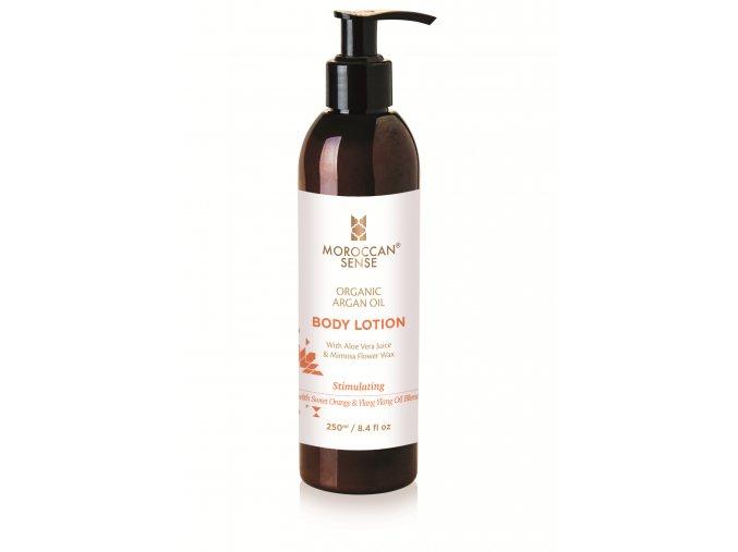 Tělové mléko s arganovým olejem - pomeranč 250 ml
