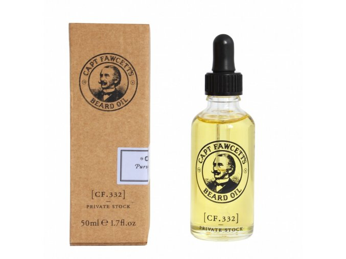 Olej na plnovous Cpt. Fawcett Private Stock (CF.332) (50 ml)