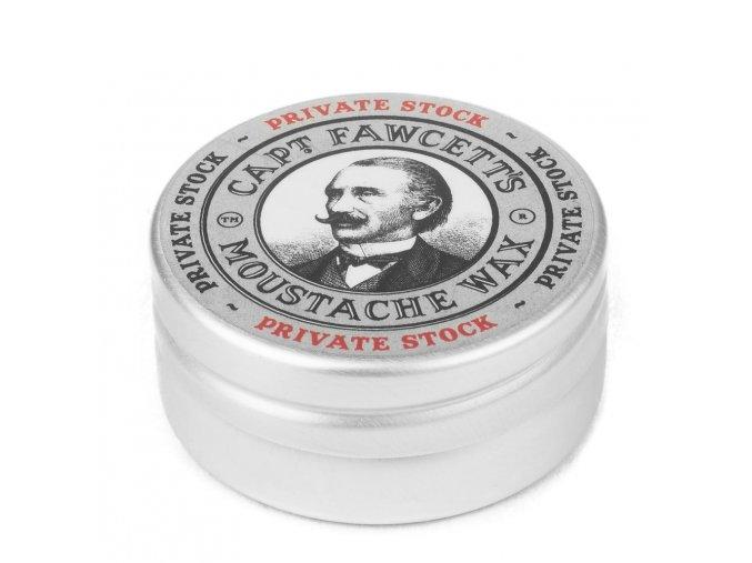 Vosk na knír Cpt. Fawcett Private Stock (15 ml)