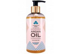 726 arganovy olej pro plet a telo santalove drevo 250 ml