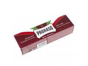 Vyživující krém na holení Proraso Red - santalové dřevo (150 ml)
