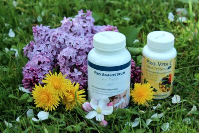 Stop jarním alergiím – podpořte imunitu přírodními doplňky stravy Pro Vita C a Pro Agalostrum