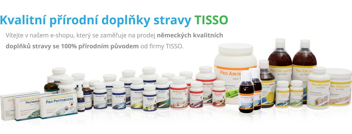 Produkty Tisso – přírodní doplňky stravy