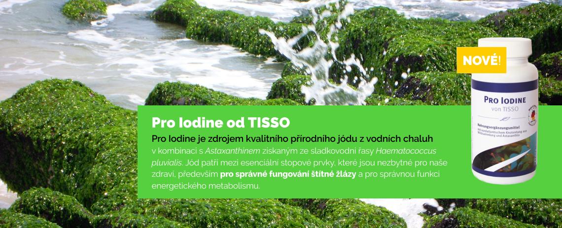 Pro Iodine od Tisso – doplněk stravy s jódem na sníženou funkci štítné žlázy