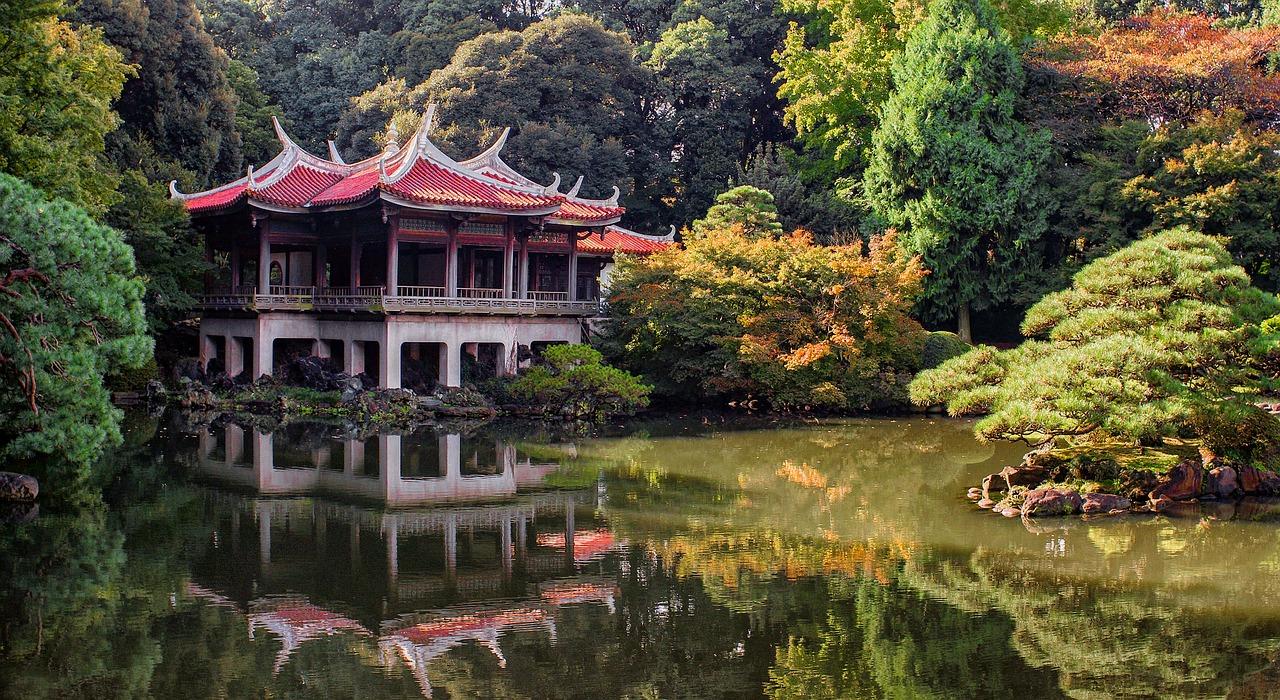 japonsko, země Křídlatky japonské