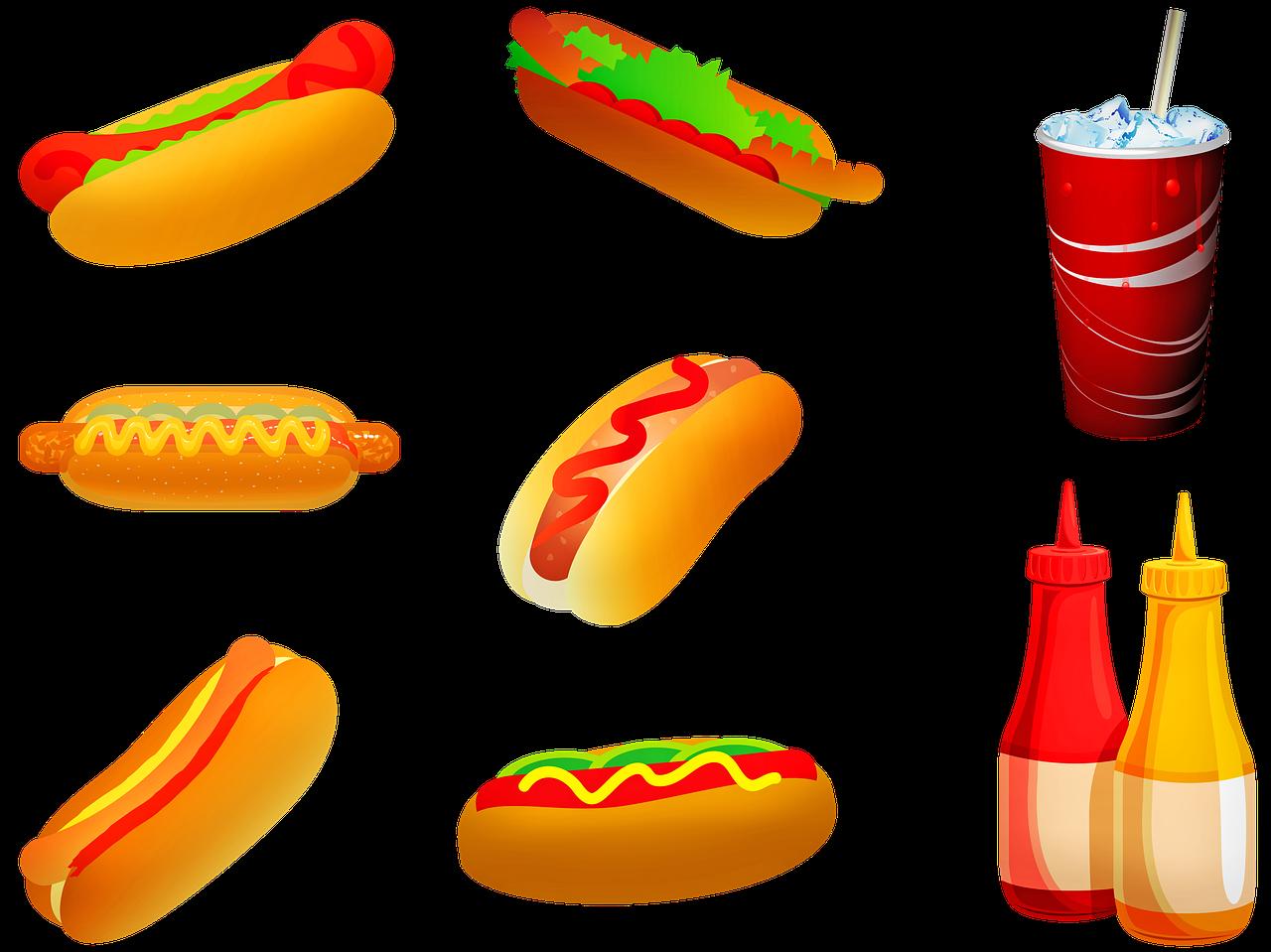 Přejídání - nezdravá strava z fast foodu