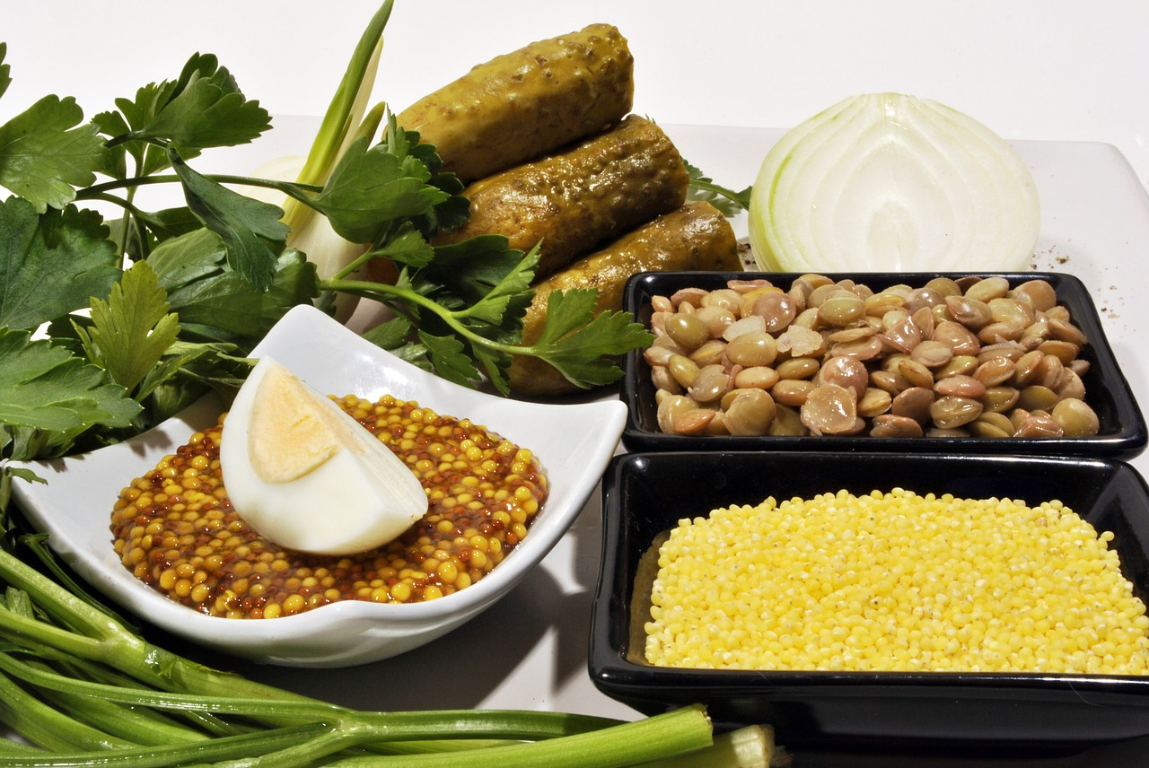 Zelenina a hlavně luštěniny jsou bohatým zdrojem vitamínu B