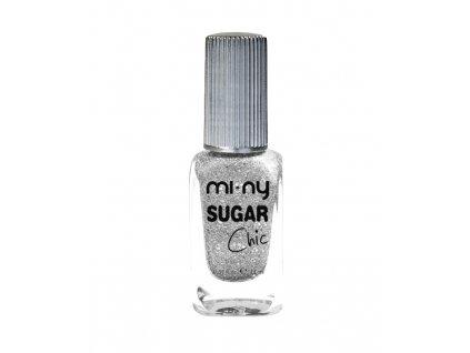 smalto sugar chic silver glaze