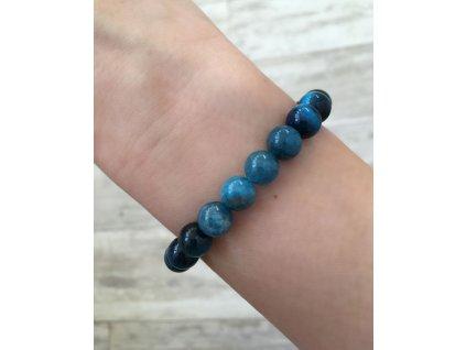 Náramek z Onyxu a Lapisu Lazuli
