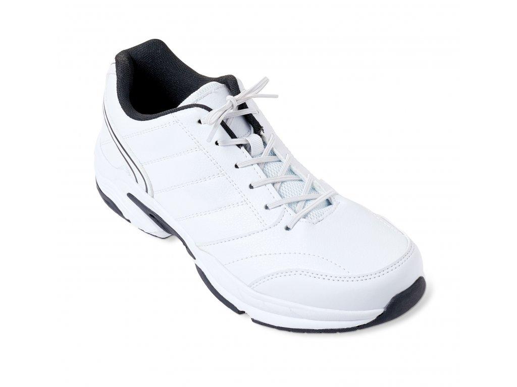 Vitility elastické tkaničky do bot 76 cm bílé 2 páry VIT-70110420