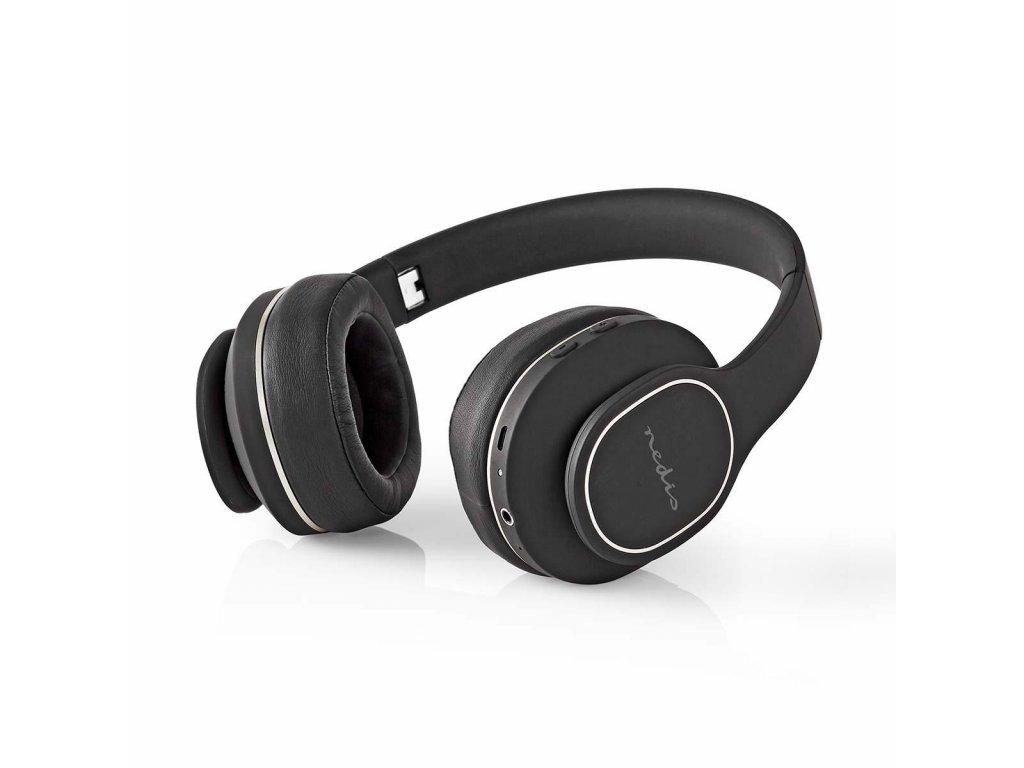 Nedis HPBT3260BK ANC Bluetooth headset, černá