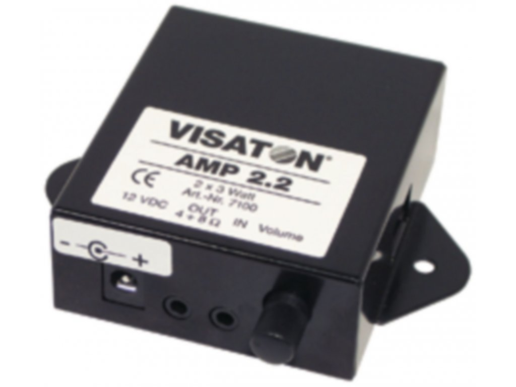 Audiozesilovač AMP 2.2LN 6W, Visaton, VS-7102