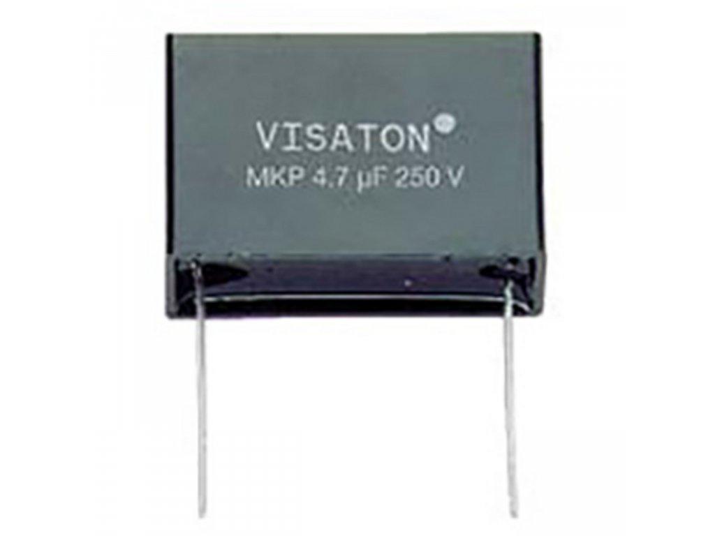 Kondenzátor polypropylénový MKP, 3.3 uF, 250 V DC, Visaton VS-5225