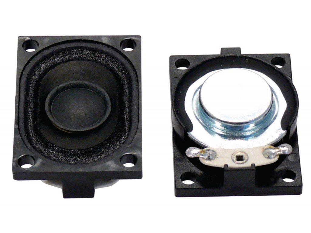 """Malý reproduktor 2.8 x 4 cm (1.1"""" x 1.6"""") 8 Ohm 3 W Visaton, VS-2945"""
