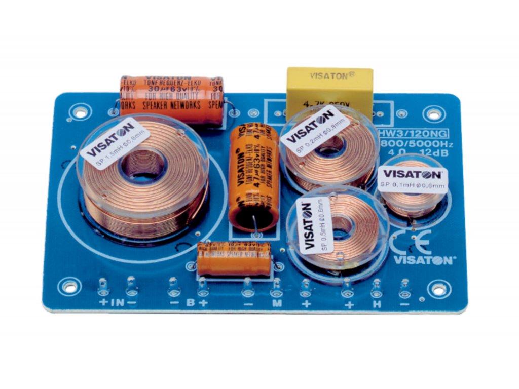 Frekvenční výhybka 8 Ohm Visaton, VS-HW3/120NG/8