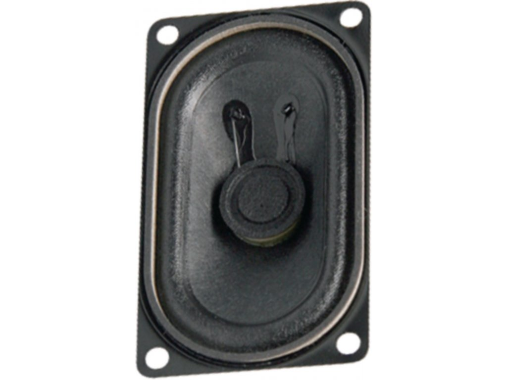 Širokopásmový oválný reproduktor 4 Ohm 4 W Visaton, VS-SC4.7ND/4