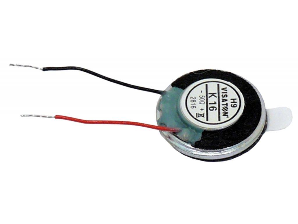 """Malý reproduktor 1.6 cm (0.63"""") 8 Ohm 1 W Visaton, VS-2815"""