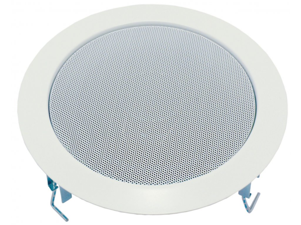 "Hi-Fi stropní reproduktor 100 V (RAL9016), 17 cm (6.5"") Visaton, VS-DL18/1R9016"