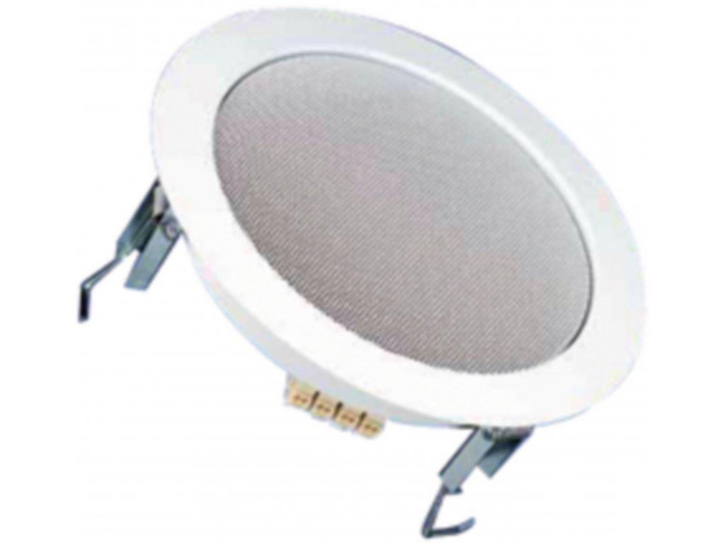 """HiFi stropní koaxiální reproduktor (RAL9010) 17 cm (6.5"""") 8 Ohm 50 W Visaton, DL18/2T"""