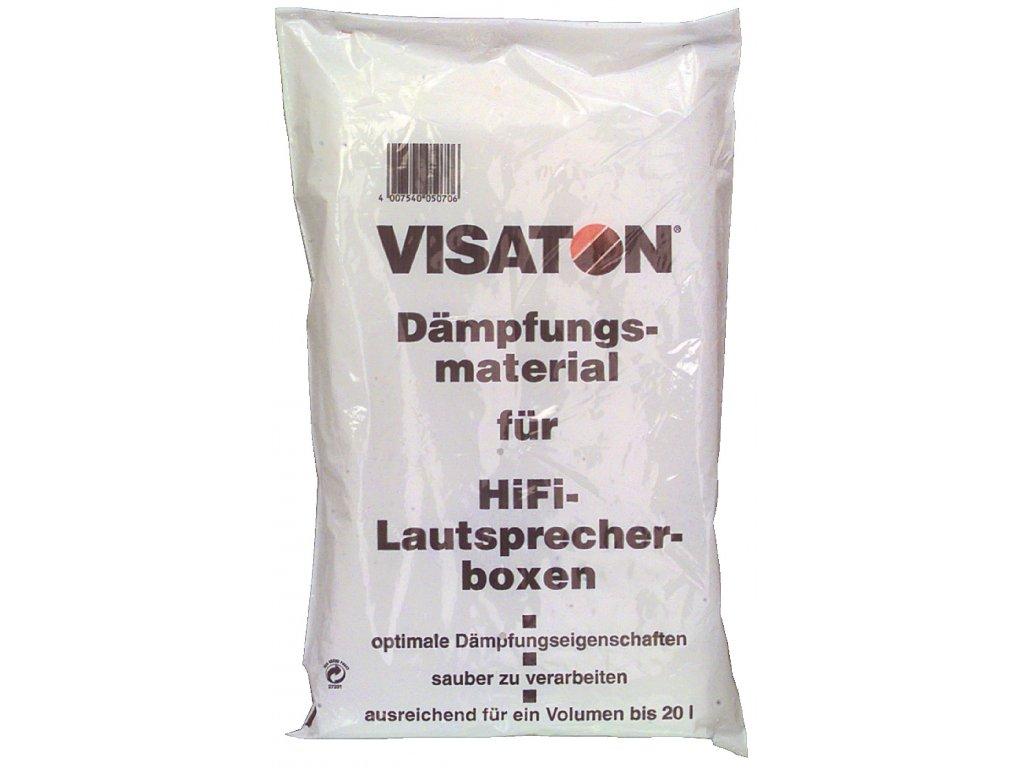 Tlumící materiál z polyesterové příze, Visaton WOOL2