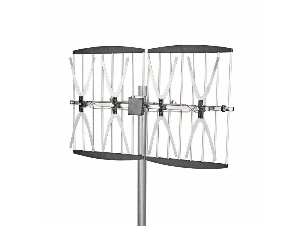 Nedis ANORU75L8ME venkovní anténa 14 dB DVB-T/T2 LTE 800
