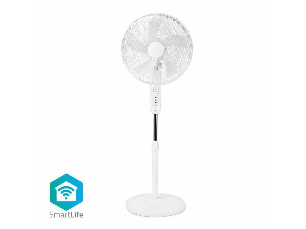 Nedis SmartLife WiFi chytrý stojanový ventilátor 40 cm (WIFIFN10CWT)