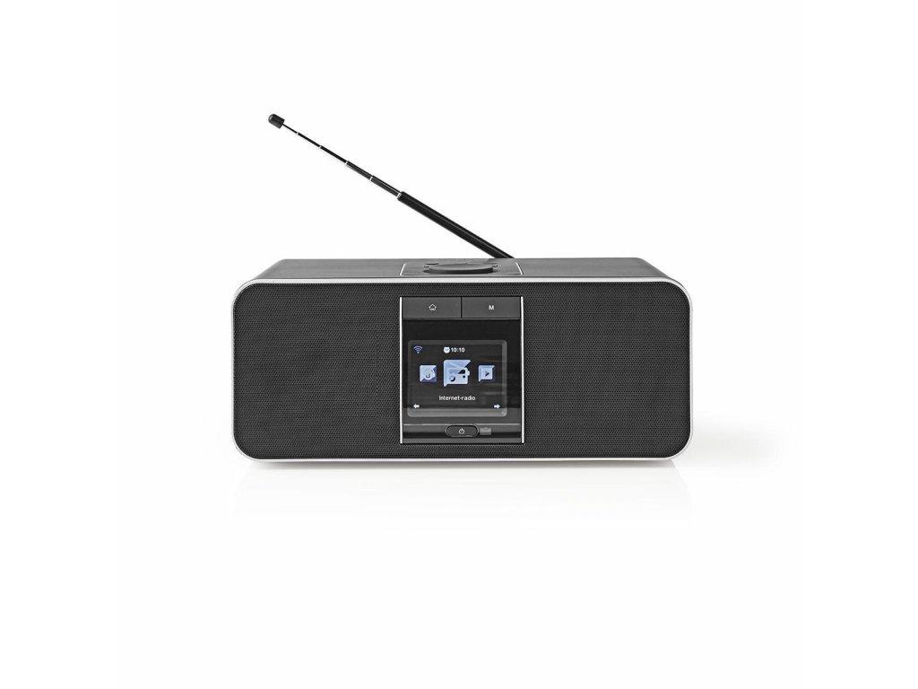 Nedis RDIN5000BK WiFi internetové rádio, DAB+ / FM / Bluetooth®, 42 W, černé