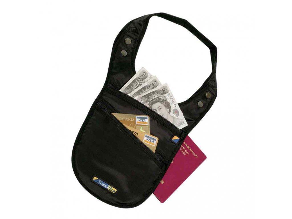 Bezpečnostní pouzdro/peněženka pod rameno TBU-131