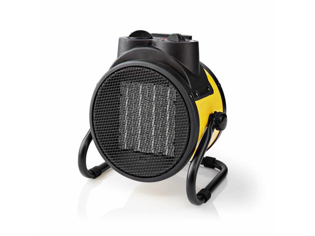 Nedis HTIF20FYW průmyslový keramický teplovzdušný ventilátor 2000 W, žlutá