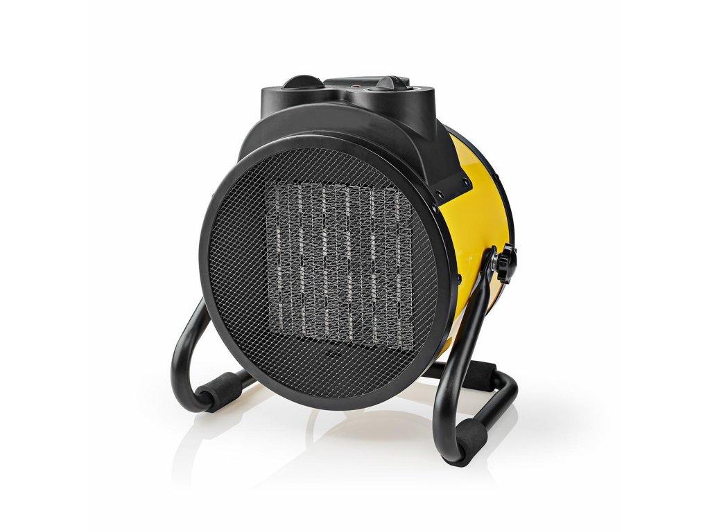 Nedis HTIF30FYW průmyslový keramický teplovzdušný ventilátor 3000 W, žlutá
