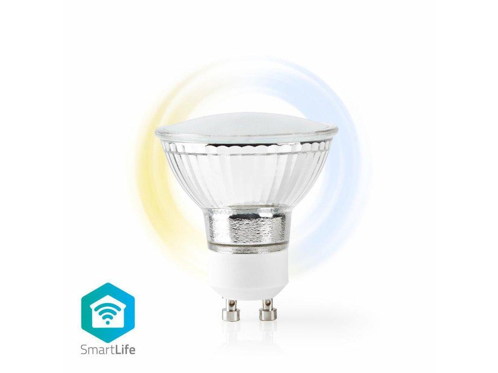 Nedis SmartLife chytrá LED žárovka GU10 5W 360lm 2700 - 6500 K (WIFILW10CRGU10)