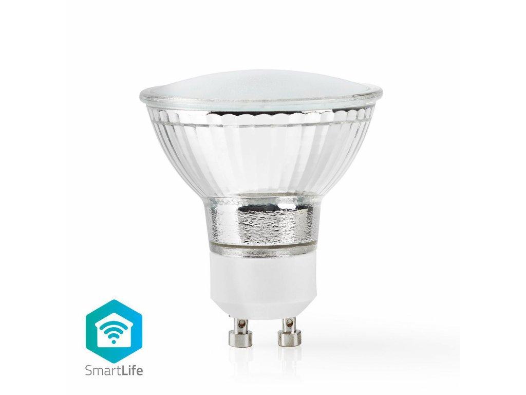 Nedis SmartLife chytrá LED žárovka GU10 5W 380lm 2700 K (WIFILW11CRGU10)