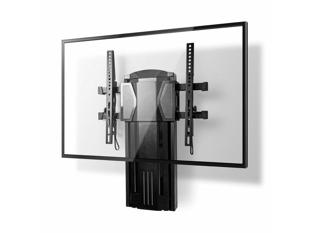 """Nedis TVWM5630BK nástěnný TV držák vertikálně posuvný a naklápěcí 0°~-10°, 37 - 60"""", 20 kg"""
