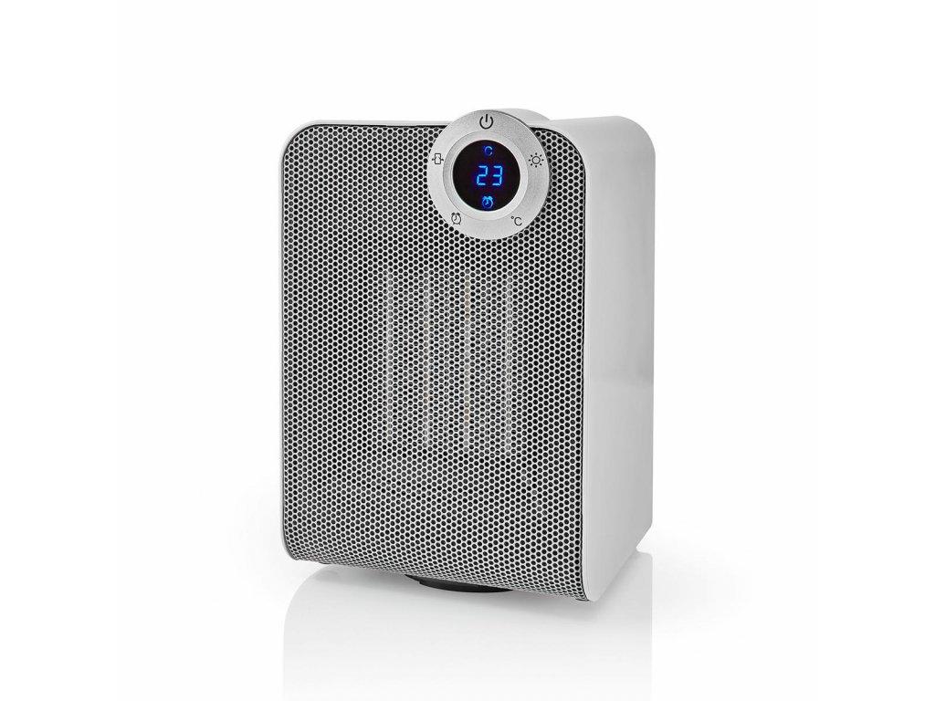 Nedis SmartLife chytrý WiFi teplovzdušný ventilátor, termostat, oscilace (WIFIFNH20CWT)