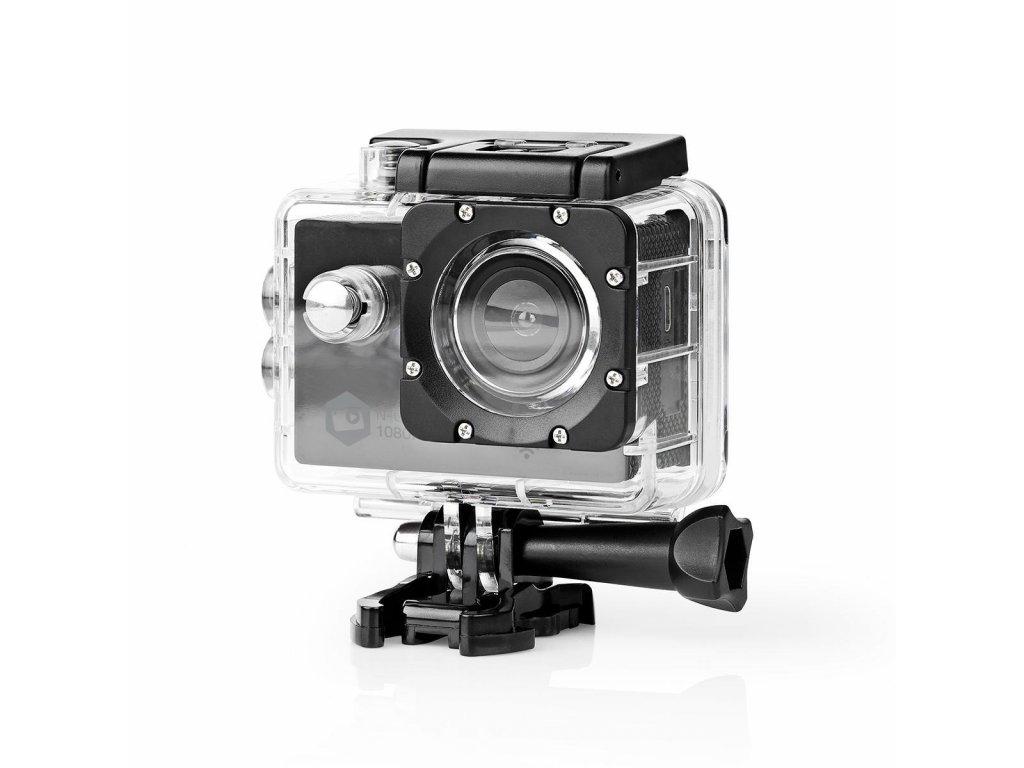 Nedis ACAM21BK Full HD sportovní kamera s Wi-Fi, vodotěsná