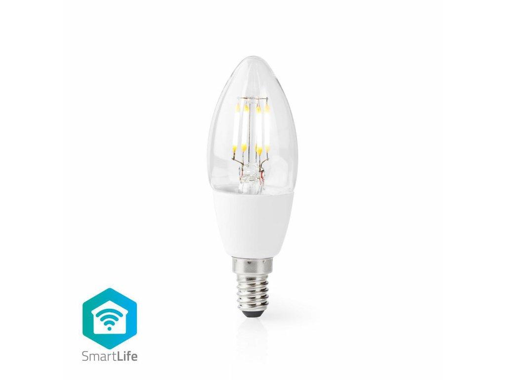Nedis SmartLife chytrá LED žárovka E14 5W 400lm 2700 K (WIFILF10WTC37)